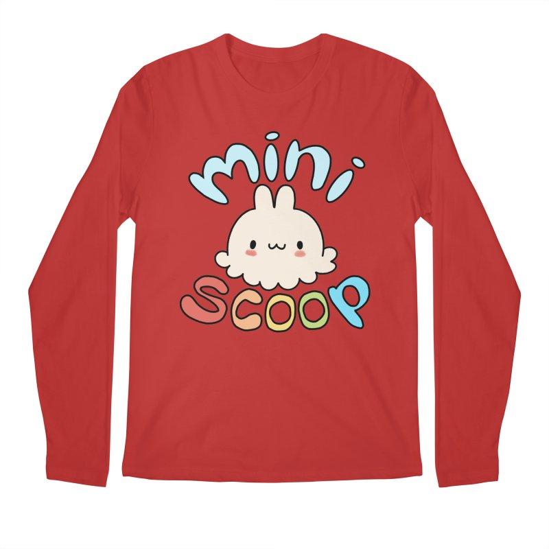 Mini Scoop Men's Regular Longsleeve T-Shirt by Scoopie.Life
