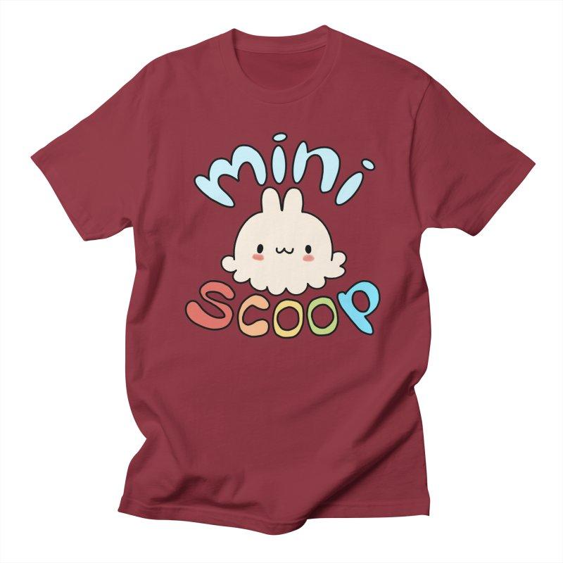 Mini Scoop Men's Regular T-Shirt by Scoopie.Life