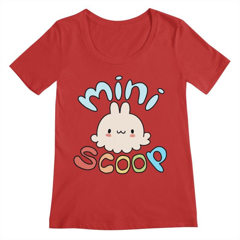 Mini Scoop Women's Regular Scoop Neck by Scoopie.Life