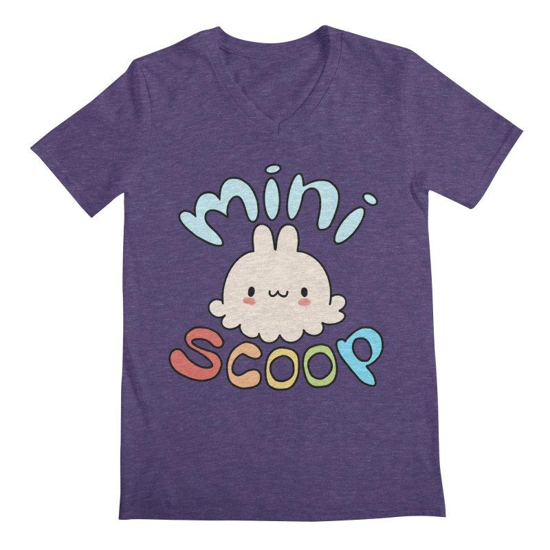 Mini Scoop Men's Regular V-Neck by Scoopie.Life