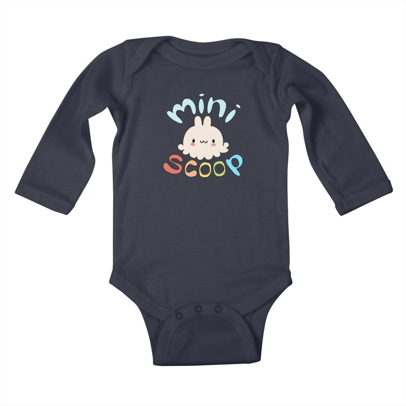 Mini Scoop Kids Baby Longsleeve Bodysuit by Scoopie.Life