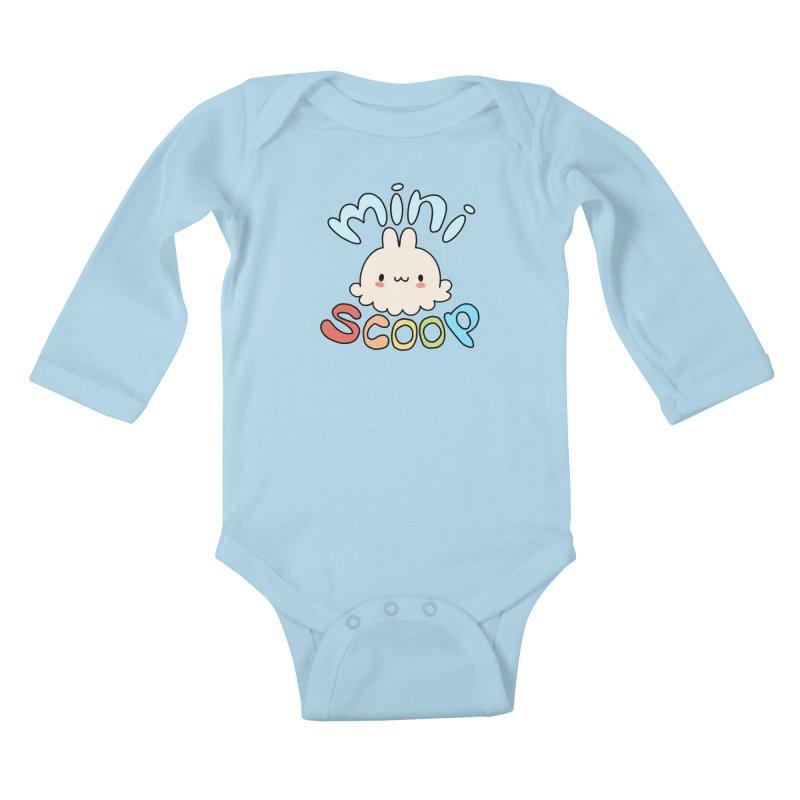 Mini Scoop Kids Baby Longsleeve Bodysuit by Scoopie.Life