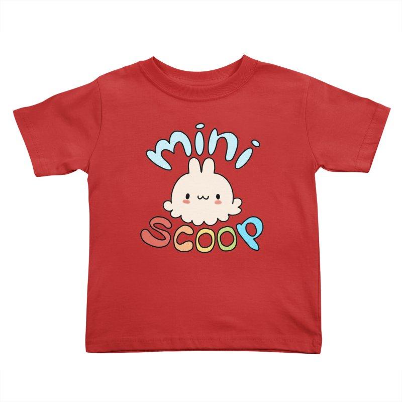 Mini Scoop Kids Toddler T-Shirt by Scoopie.Life