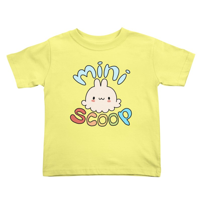 Mini Scoop Kids Toddler T-Shirt by Scoopie.Life