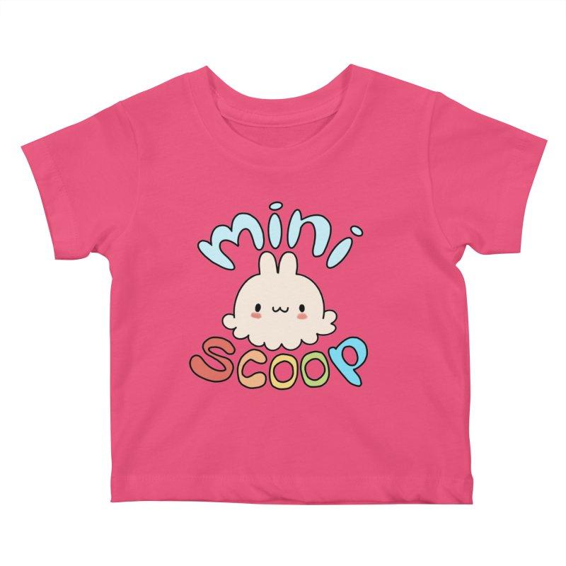 Mini Scoop Kids Baby T-Shirt by Scoopie.Life