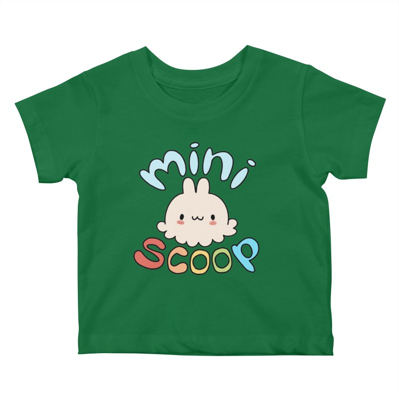 Mini Scoop Kids Baby T-Shirt by Scoopie.Life