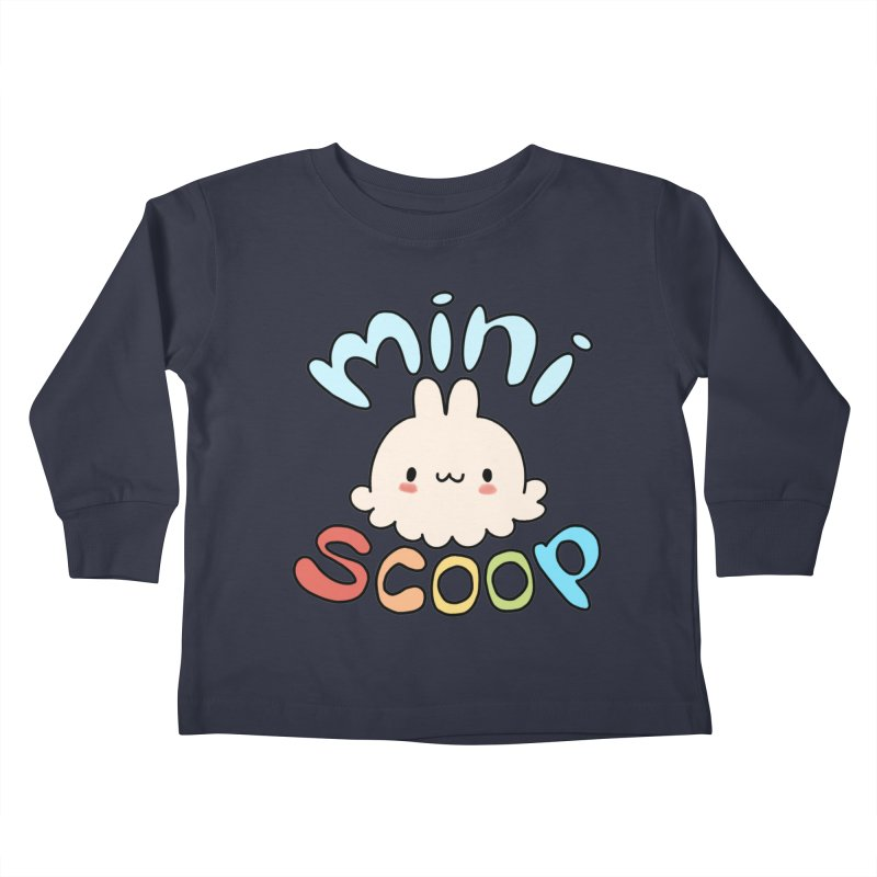 Mini Scoop Kids Toddler Longsleeve T-Shirt by Scoopie.Life