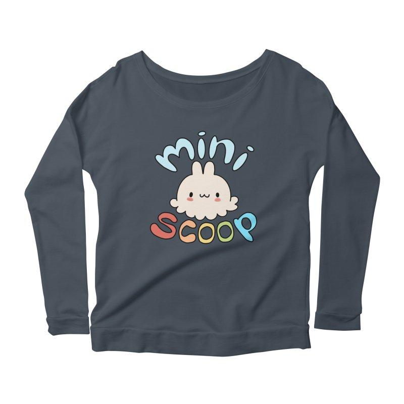 Mini Scoop Women's Scoop Neck Longsleeve T-Shirt by Scoopie.Life