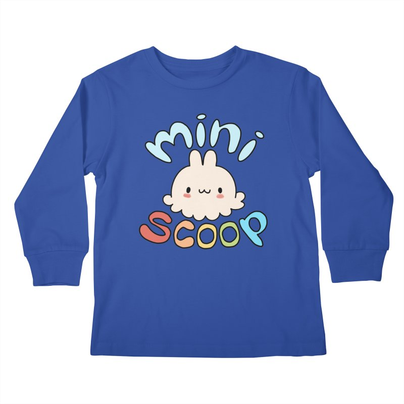 Mini Scoop Kids Longsleeve T-Shirt by Scoopie.Life