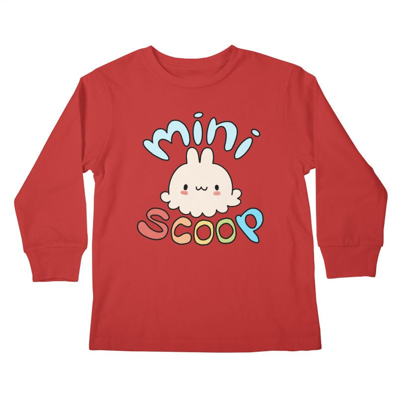 Mini Scoop Kids Longsleeve T-Shirt by Scoopie.Life