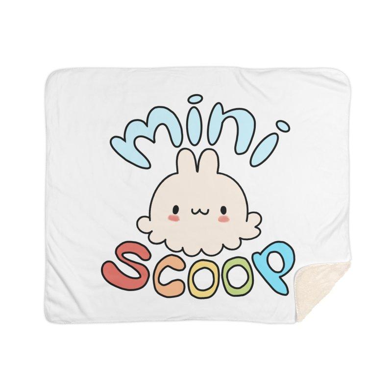 Mini Scoop Home Sherpa Blanket Blanket by Scoopie.Life