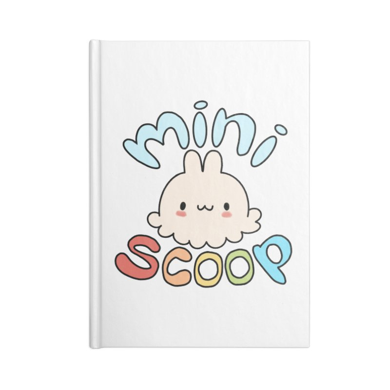 Mini Scoop Accessories Lined Journal Notebook by Scoopie.Life