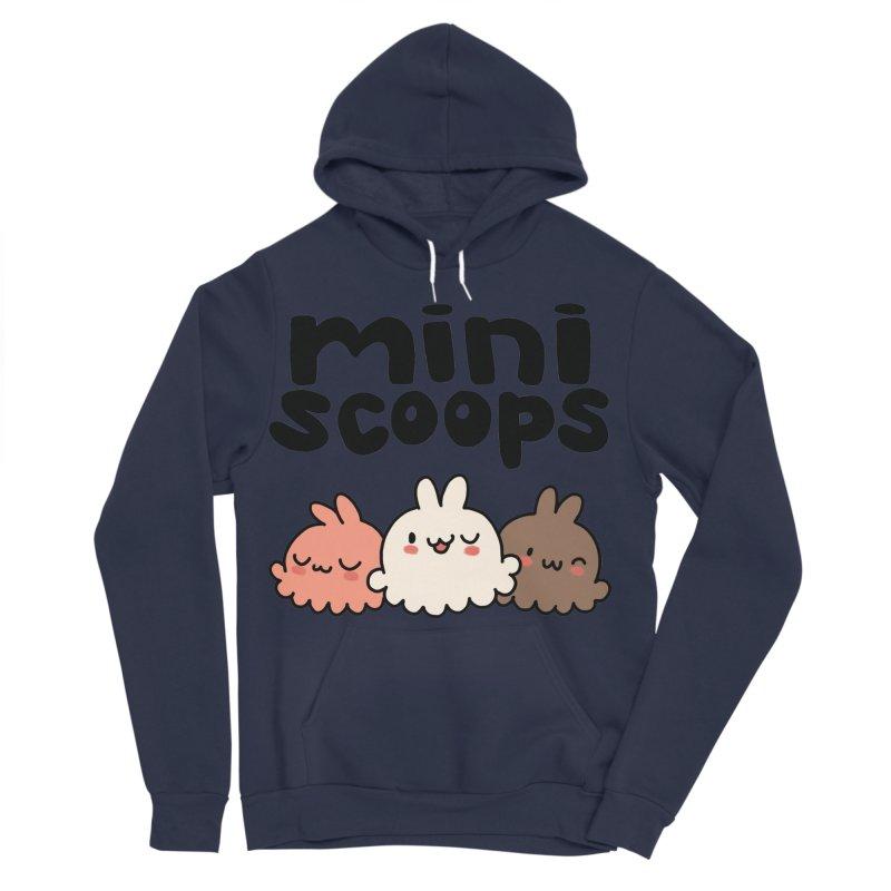 Mini Scoops Trio Men's Sponge Fleece Pullover Hoody by Scoopie.Life