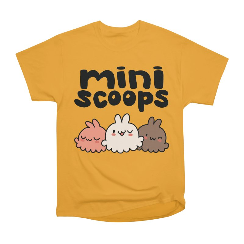 Mini Scoops Trio Men's Heavyweight T-Shirt by Scoopie.Life