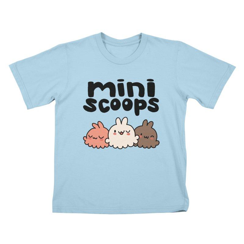 Mini Scoops Trio Kids T-Shirt by Scoopie.Life
