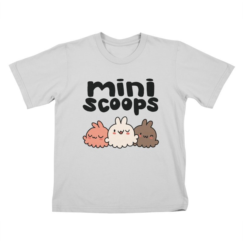 Mini Scoops Trio Kids T-Shirt by Scoopie.Life