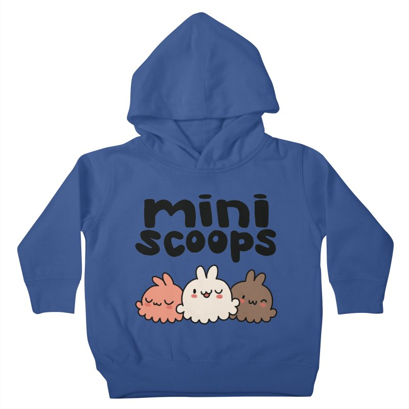 Mini Scoops Trio Kids Toddler Pullover Hoody by Scoopie.Life