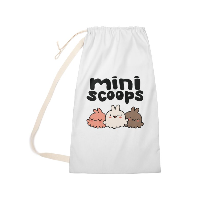 Mini Scoops Trio Accessories Laundry Bag Bag by Scoopie.Life