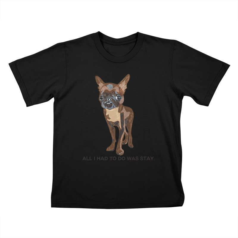 All I Had To Do Was Stay. Kids T-Shirt by scottdraft's Artist Shop