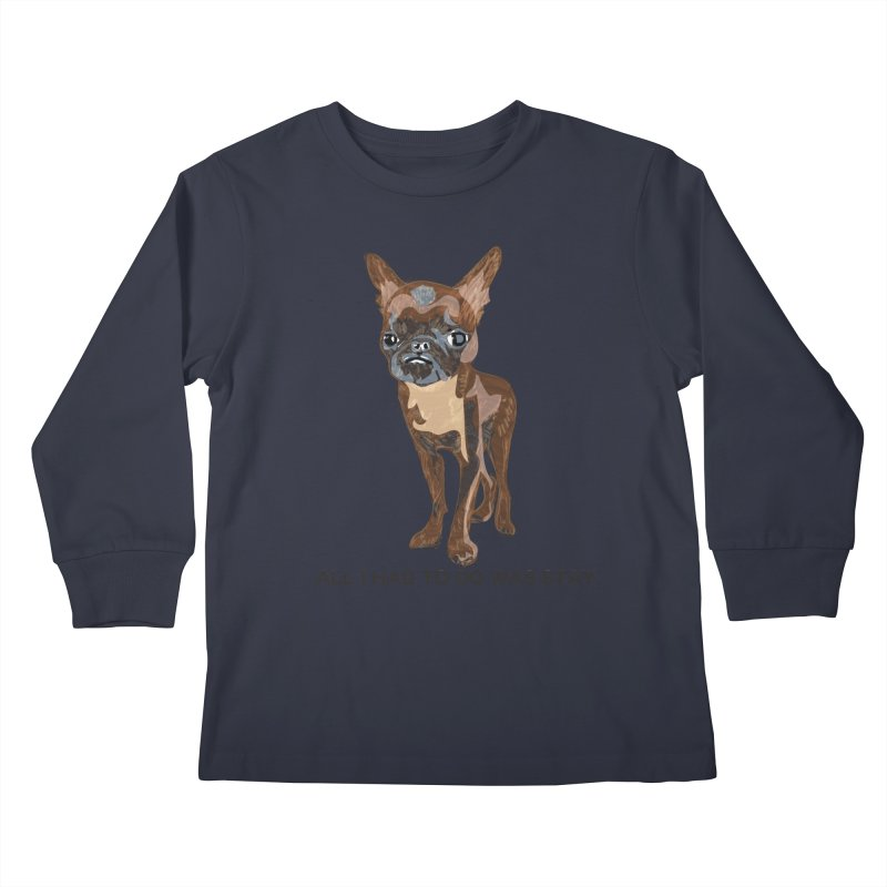 All I Had To Do Was Stay. Kids Longsleeve T-Shirt by scottdraft's Artist Shop