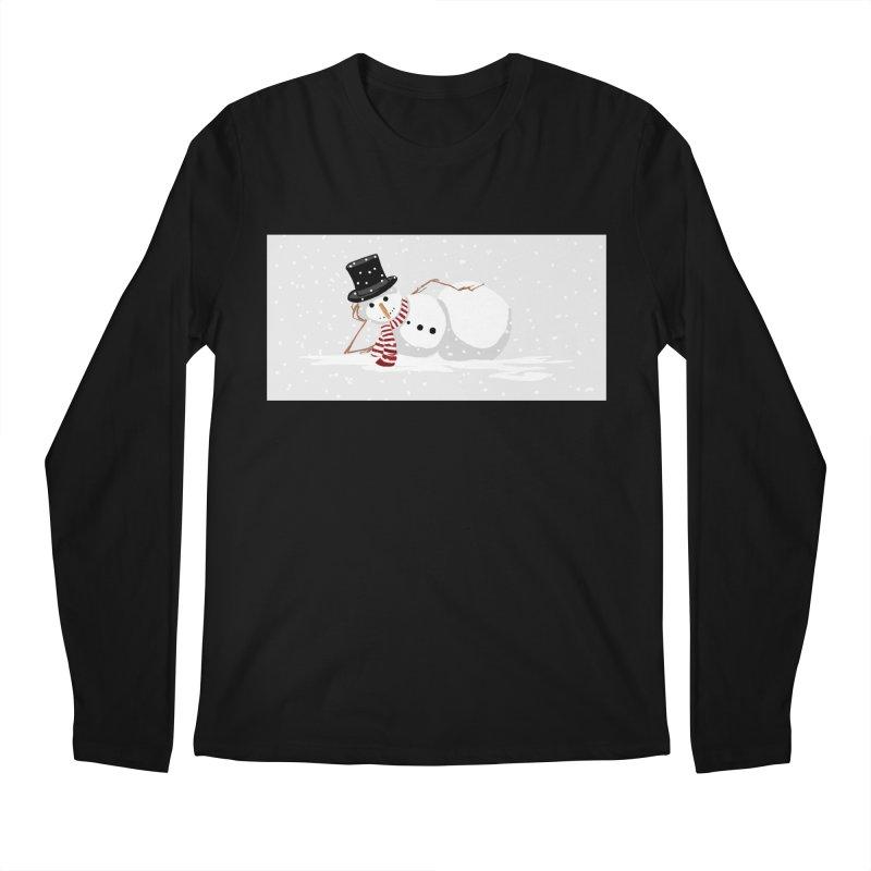 winter snowbound Men's Longsleeve T-Shirt by scottdsyoung's Artist Shop