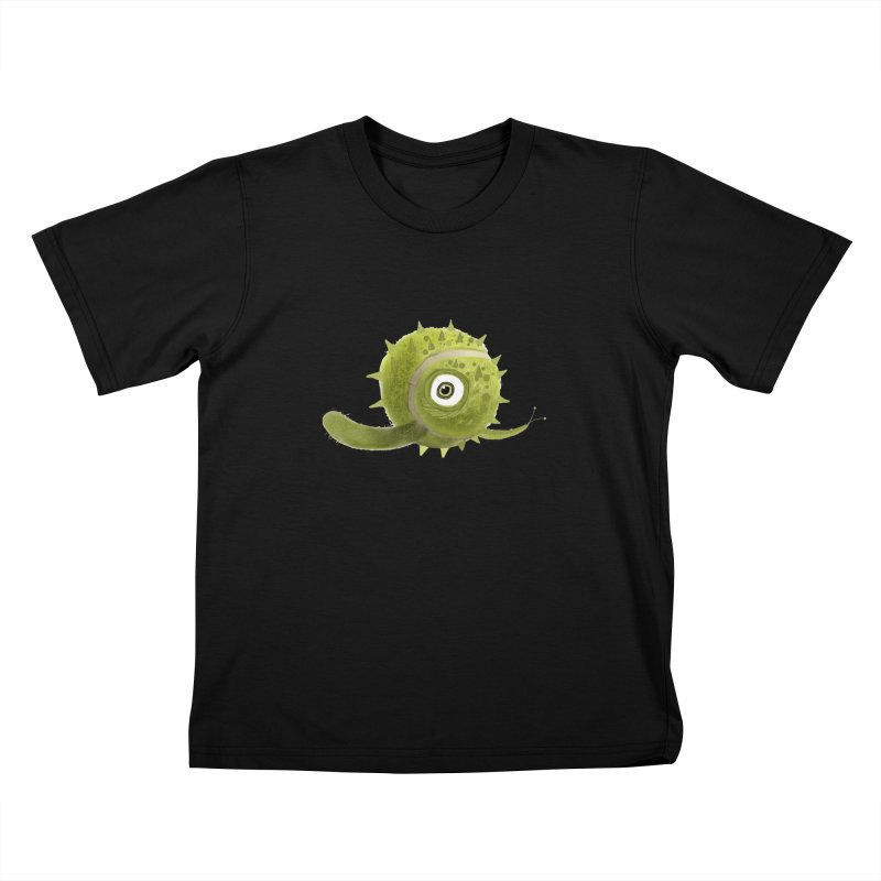 Green ball Kids T-shirt by scottdsyoung's Artist Shop