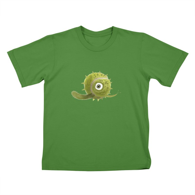 Green ball Kids T-shirt by scottdsyoung's Artist Shop