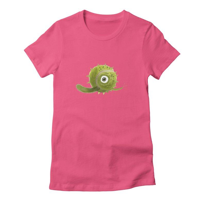 Green ball Women's Fitted T-Shirt by scottdsyoung's Artist Shop