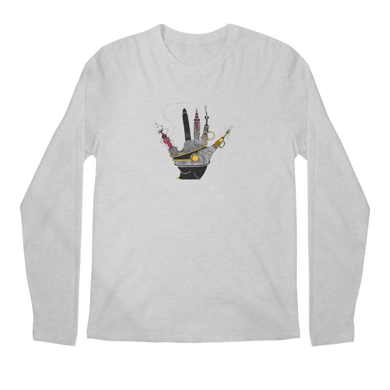 drawing hand Men's Longsleeve T-Shirt by scottdsyoung's Artist Shop