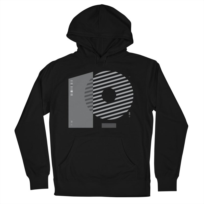 33.45 in Women's Pullover Hoody Black by Scott Millar's Artist Shop