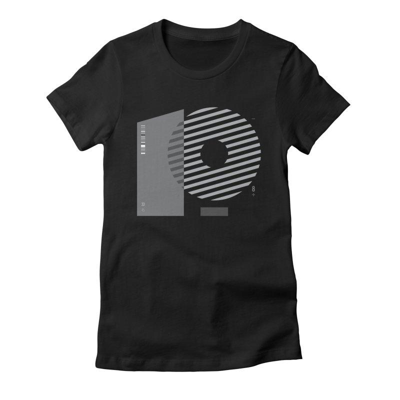33.45 Women's Fitted T-Shirt by Scott Millar's Artist Shop