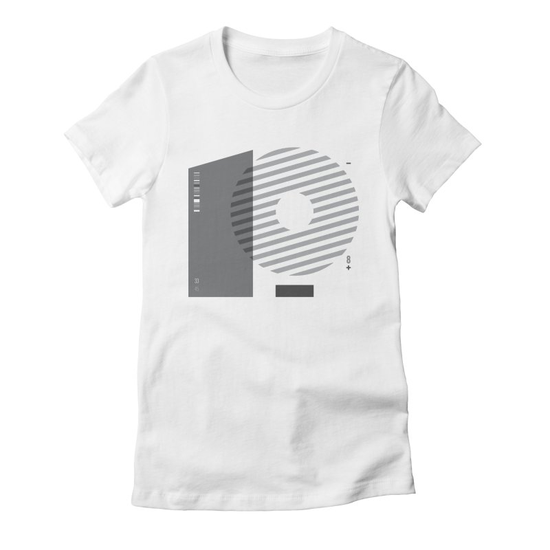 33.45 Women's Fitted T-Shirt by Scott Millar's Artist Shop