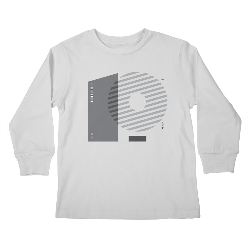 33.45 Kids Longsleeve T-Shirt by Scott Millar's Artist Shop