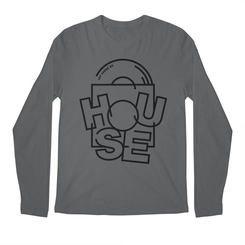 Let there be house Men's Longsleeve T-Shirt by Scott Millar's Artist Shop