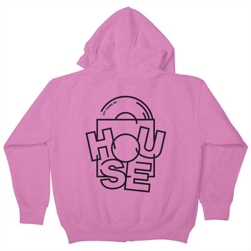 Let there be house Kids Zip-Up Hoody by Scott Millar's Artist Shop