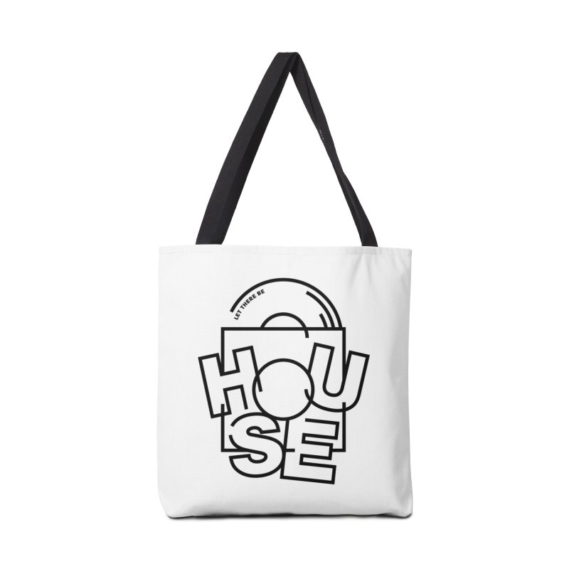 Let there be house Accessories Bag by Scott Millar's Artist Shop