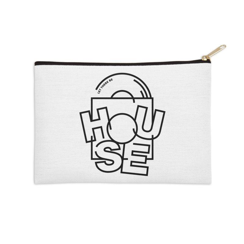 Let there be house Accessories Zip Pouch by Scott Millar's Artist Shop