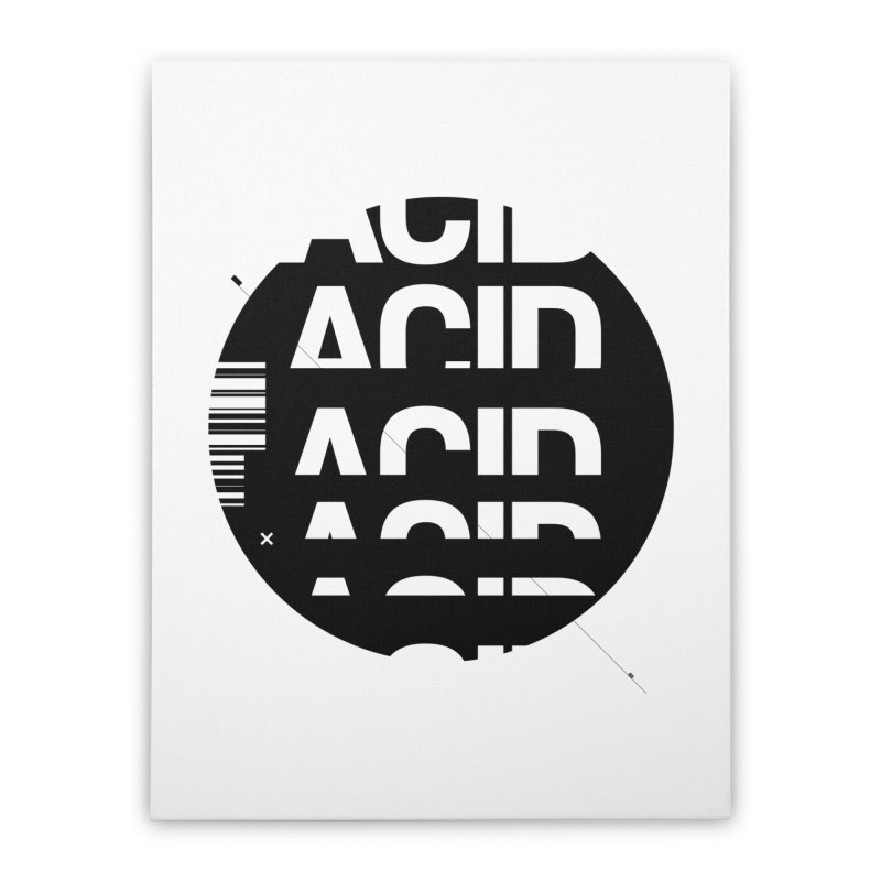 Acid Drop Home Stretched Canvas by Scott Millar