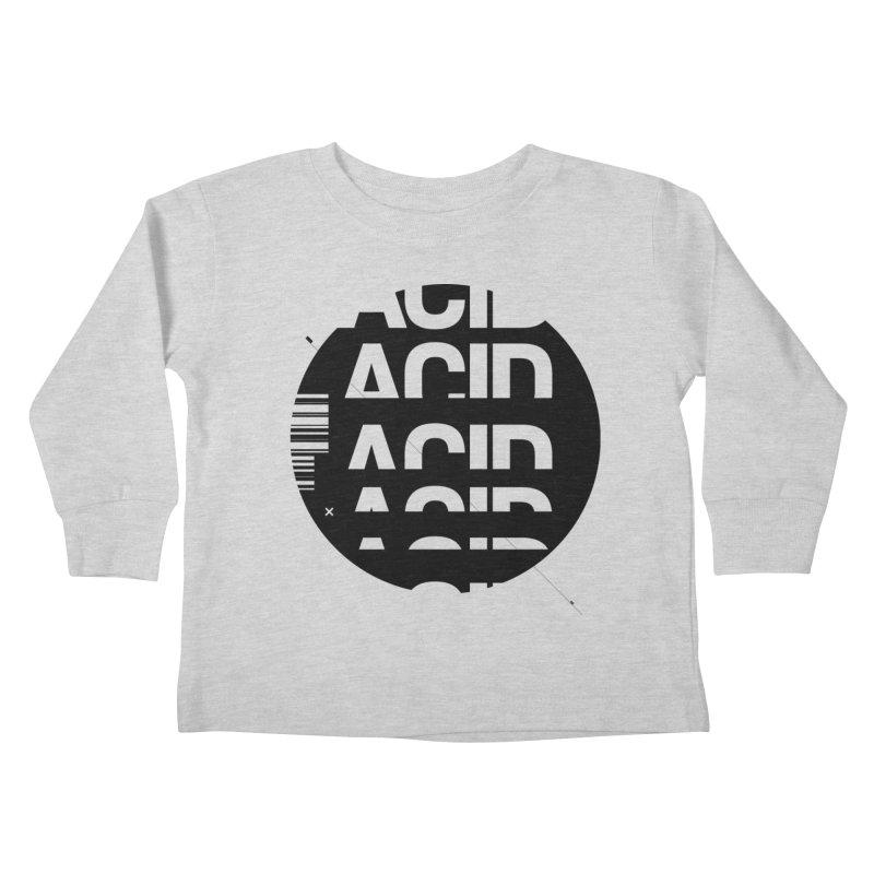 Acid Drop Kids Toddler Longsleeve T-Shirt by Scott Millar