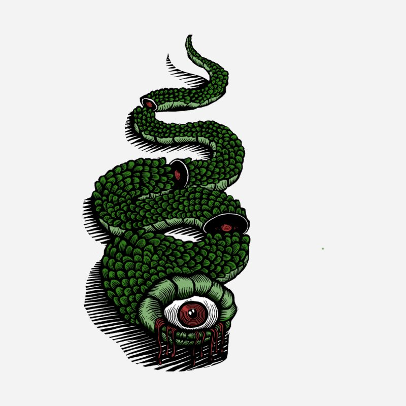 Nietzsche Snake by Scott Minzy