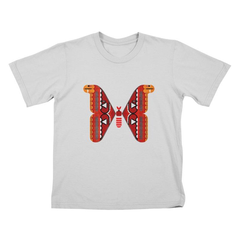 Atlas Moth Kids T-Shirt by scottpartridge's Artist Shop
