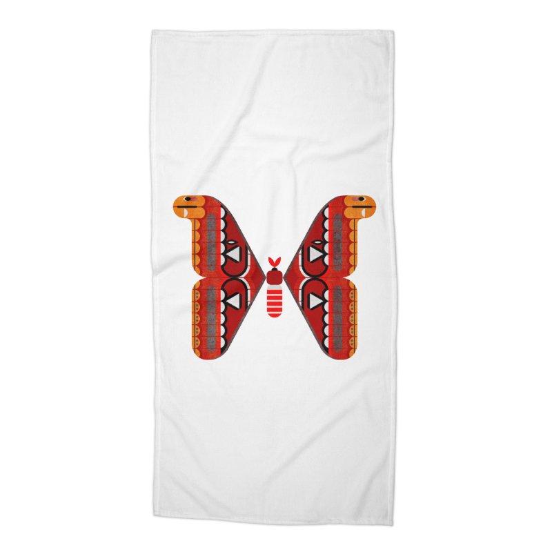 Atlas Moth Accessories Beach Towel by scottpartridge's Artist Shop