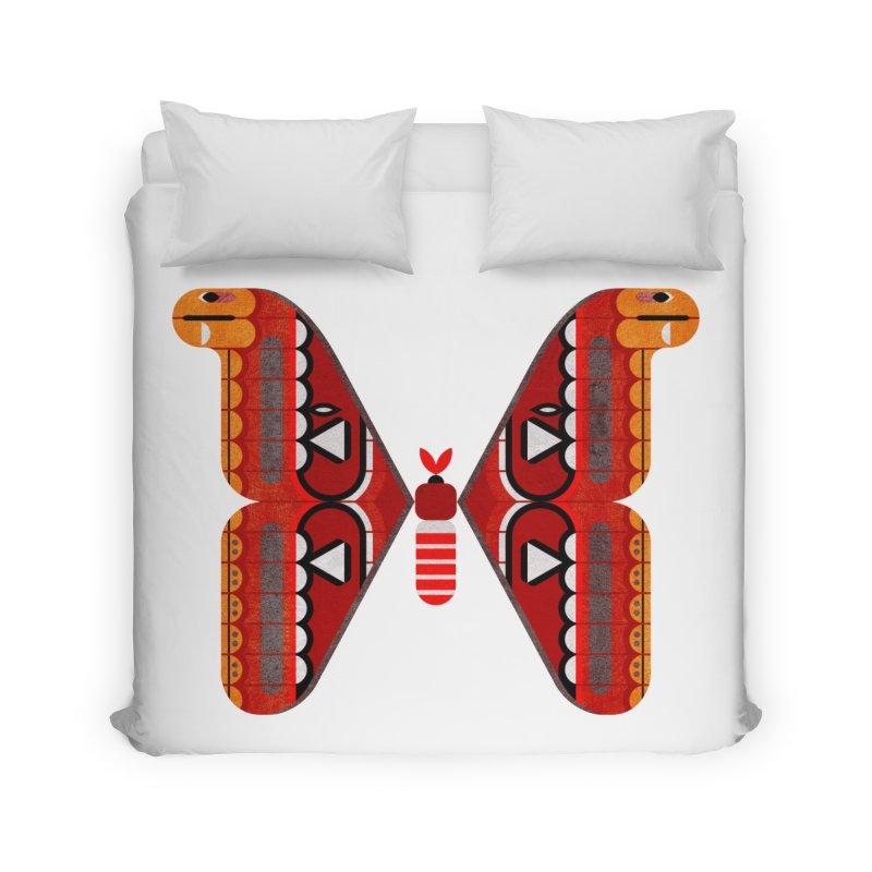 Atlas Moth Home Duvet by scottpartridge's Artist Shop