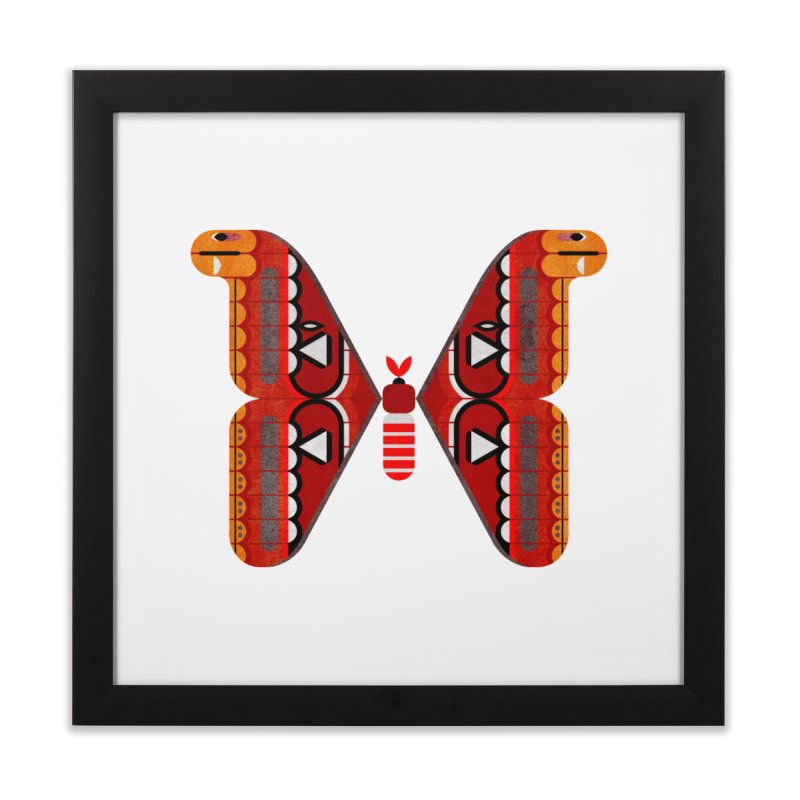 Atlas Moth Home Framed Fine Art Print by scottpartridge's Artist Shop