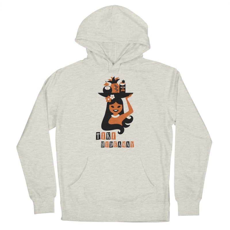 Tiki Hideaway Women's French Terry Pullover Hoody by scottpartridge's Artist Shop