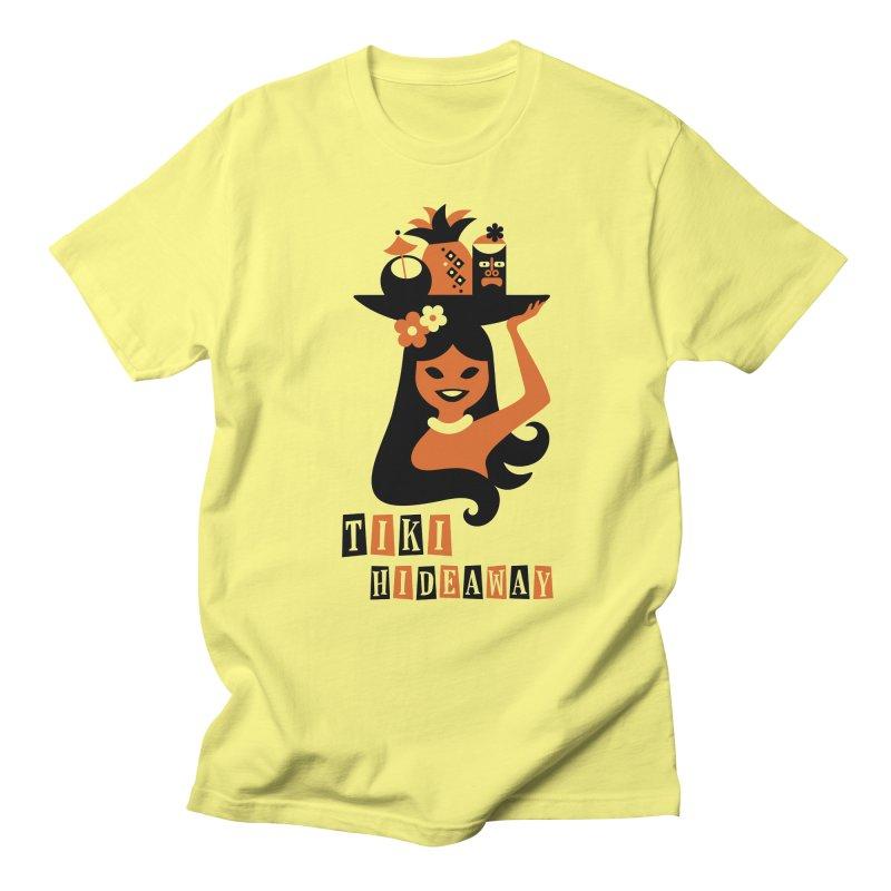Tiki Hideaway Men's Regular T-Shirt by scottpartridge's Artist Shop