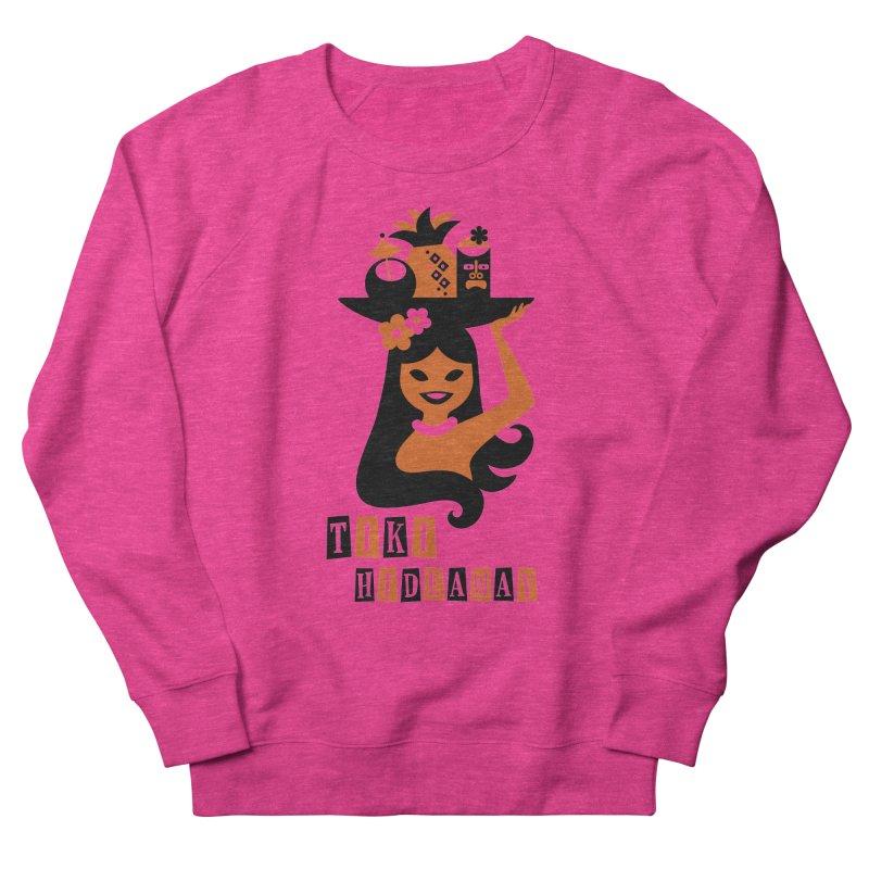 Tiki Hideaway Women's French Terry Sweatshirt by scottpartridge's Artist Shop