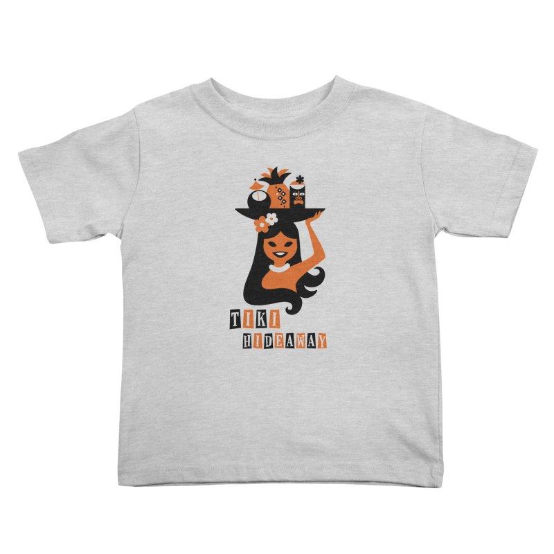 Tiki Hideaway Kids Toddler T-Shirt by scottpartridge's Artist Shop