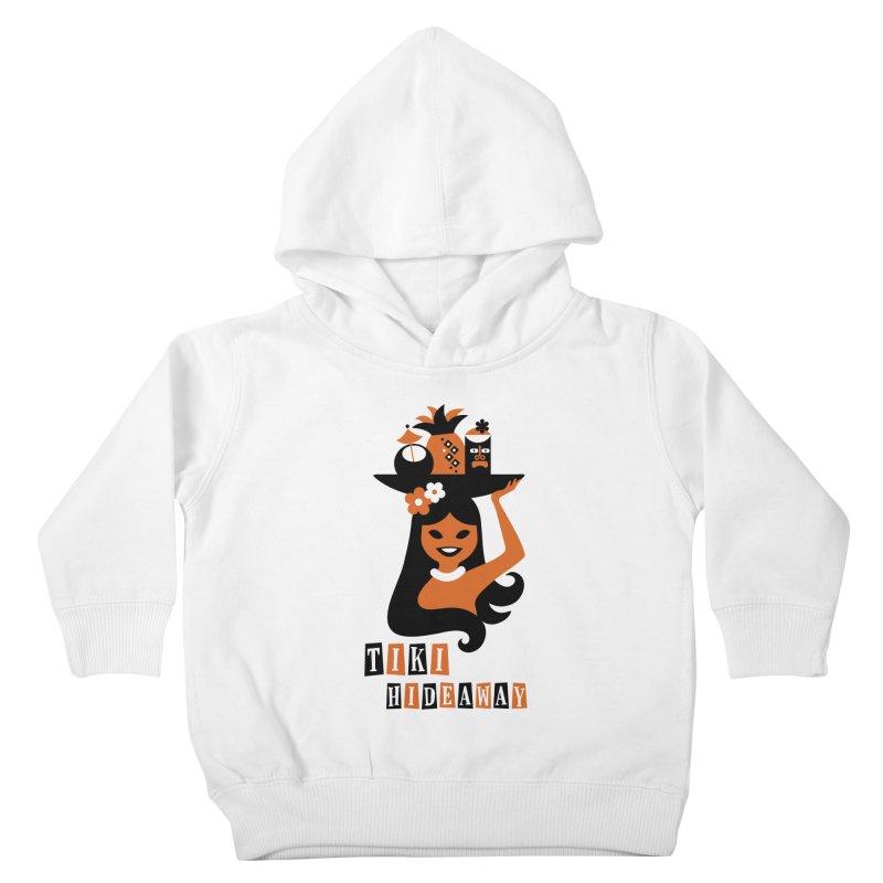 Tiki Hideaway Kids Toddler Pullover Hoody by scottpartridge's Artist Shop