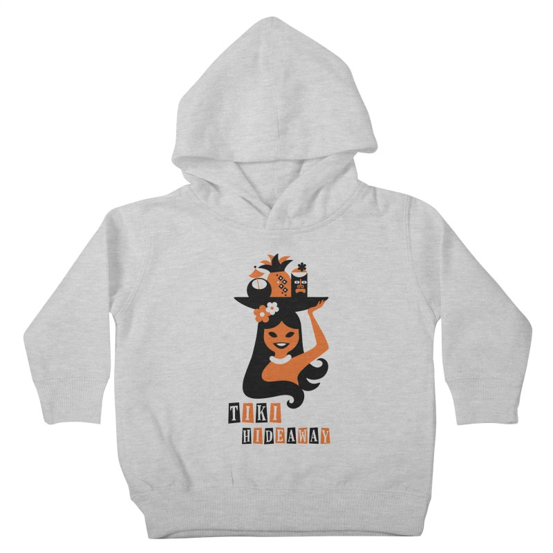Tiki Hideaway Kids Toddler Pullover Hoody by scottpartridge's Artist Shop